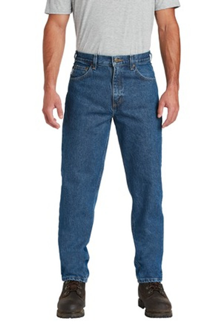 Carhartt Relaxed-Fit Tapered-Leg Jean  (00373-25); Primary; Decoration Type: