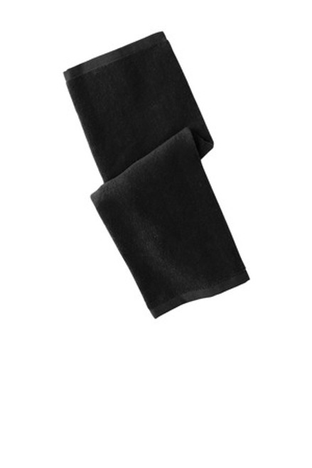 Port Authority Hemmed Towel (01257-25); Primary; Decoration Type: