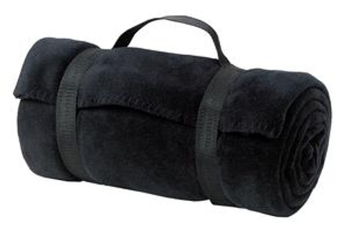 Port Authority - Value Fleece Blanket With Strap (00144-25); Primary; Decoration Type: