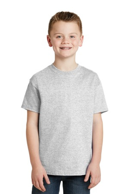 Hanes - Youth Tagless 100% Cotton T-Shirt (01934-25); Primary; Decoration Type: