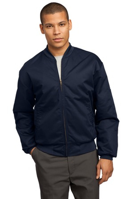 Red Kap Team Style Jacket With Slash Pockets (01353-25); Primary; Decoration Type: