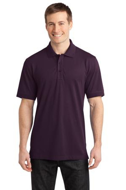 Port Authority Stretch Pique Polo (01750-25); Primary; Decoration Type:
