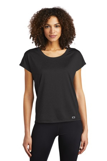 Ogio Endurance Ladies Pulse Dolman Tee (02135-25); Primary; Decoration Type: