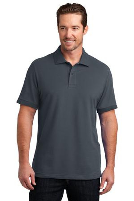 Discontinued District Made Mens Stretch Pique Polo (00070-25); Primary; Decoration Type: