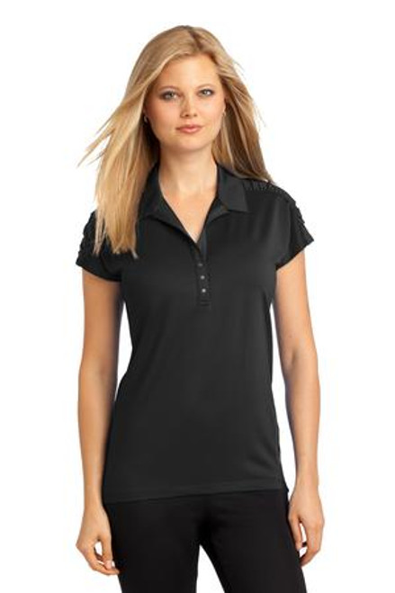 Discontinued Ogio Ladies Linear Polo (00196-25); Primary; Decoration Type: