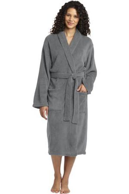 Port Authority Plush Microfleece Shawl Collar Robe (01588-25); Primary; Decoration Type: