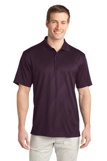 Port Authority Tech Embossed Polo (00117-25); Primary; Decoration Type: