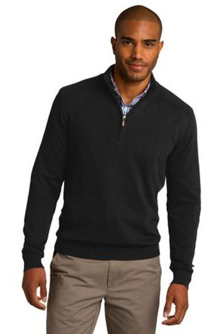 Port Authority 1/2-Zip Sweater (00899-25); Primary; Decoration Type: