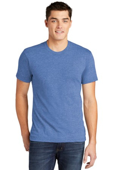 American Apparel Tri-Blend Short Sleeve Track T-Shirt (01929-25); Primary; Decoration Type: