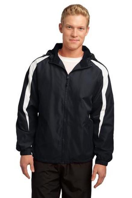 Sport-Tek Fleece-Lined Colorblock Jacket (01158-25); Primary; Decoration Type: