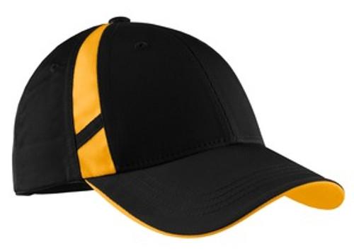 Sport-Tek Dry Zone Mesh Inset Cap (01560-25); Primary; Decoration Type: