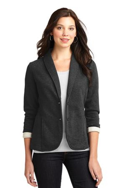 Port Authority Ladies Fleece Blazer (01241-25); Primary; Decoration Type: