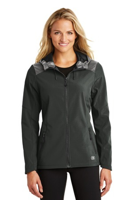 Ogio Endurance Ladies Liquid Jacket (02203-25); Primary; Decoration Type: