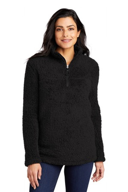 Port Authority Ladies Cozy 1/4-Zip Fleece (01330-25); Primary; Decoration Type: