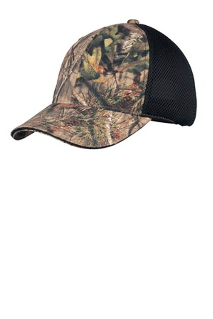 Port Authority Camouflage Cap With Air Mesh Back (00303-25); Primary; Decoration Type: