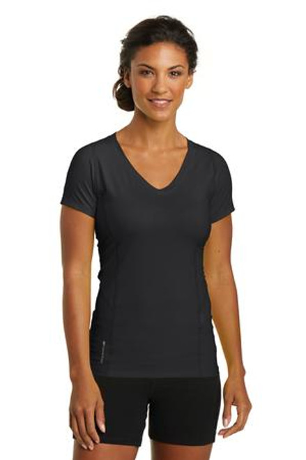 Discontinued Ogio Endurance Ladies Nexus V-Neck (00656-25); Primary; Decoration Type: