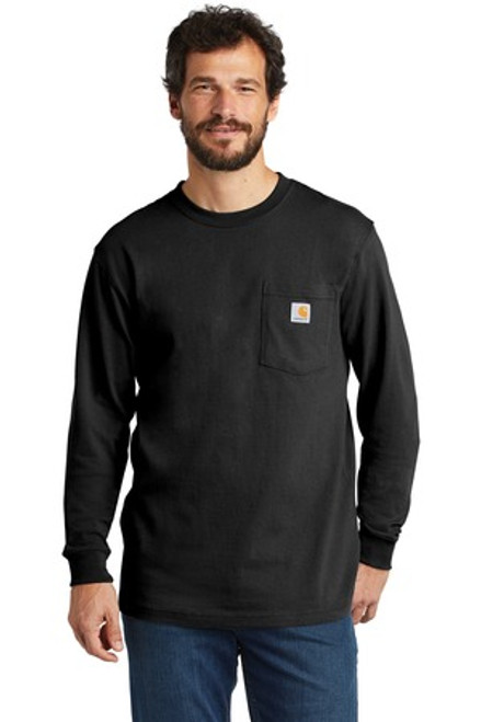 Carhartt Workwear Pocket Long Sleeve T-Shirt (00048-25); Primary; Decoration Type: