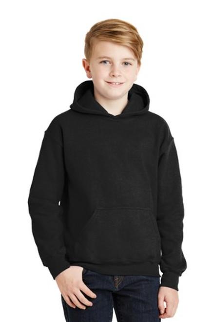 Gildan - Youth Heavy Blend Hooded Sweatshirt (01275-25); Primary; Decoration Type: