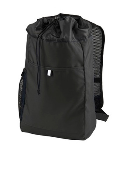 Port Authority Hybrid Backpack (01042-25); Primary; Decoration Type: