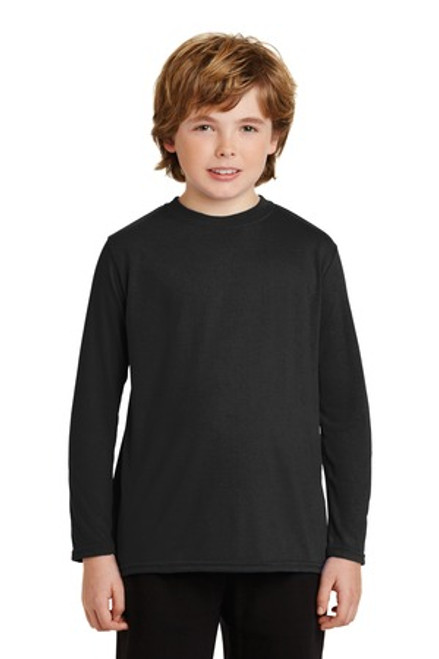 Gildan Youth Gildan Performance Long Sleeve T-Shirt (00744-25); Primary; Decoration Type: