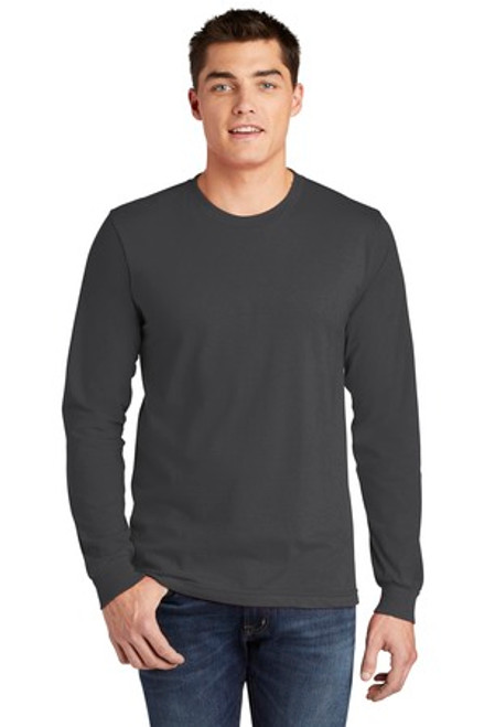 American Apparel Fine Jersey Long Sleeve T-Shirt (01474-25); Primary; Decoration Type: