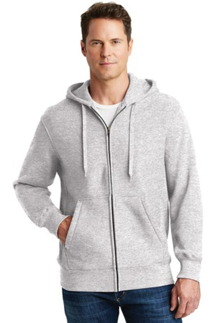 Sport-Tek Super Heavyweight Full-Zip Hooded Sweatshirt (01813-25); Primary; Decoration Type: