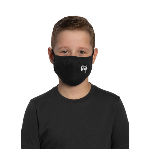 Youth Custom Printed Face Masks - 100% Cotton Knit