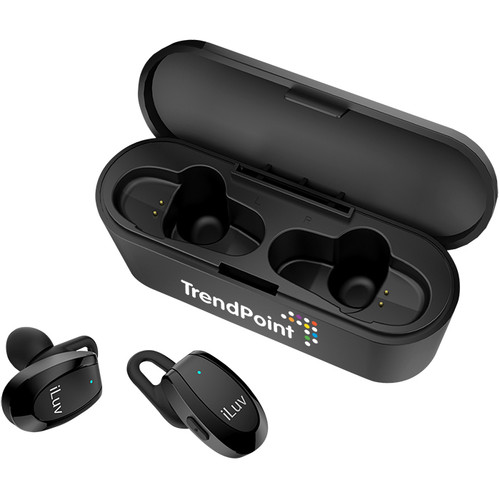 Iluv® Bluetooth® Earbuds With Charger Case (00477-11); Decorated; Decoration Type: