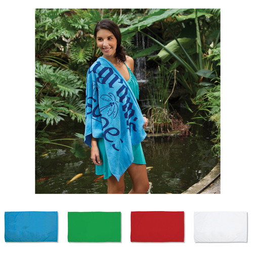 """Pro Towels Small Beach Towel (24"""" X 42"""") (02016-19); Primary; Decoration Type:"""