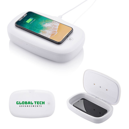 Uv Phone Sanitizer With Wireless Charger (02034-19); Primary; Decoration Type: