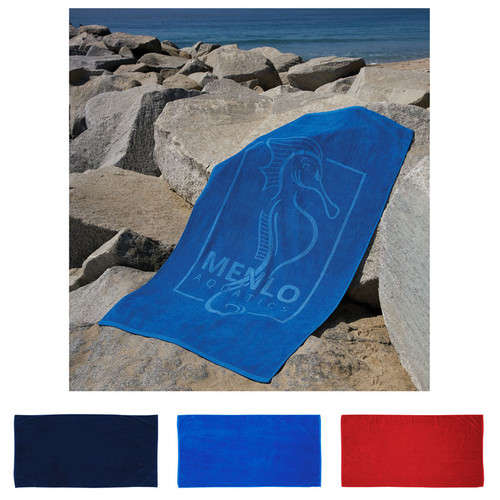"""Pro Towels Platinum Collection Colored Beach Towel (35"""" X 70"""") (02112-19); Primary; Decoration Type:"""