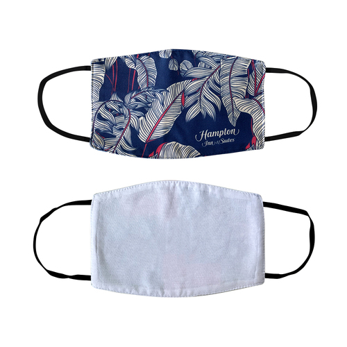 Full Color 2-Ply Dye-Sublimated Face Mask