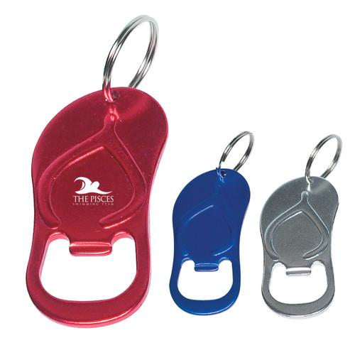 Sandal Bottle Opener Key Ring (04146-00); Blank; Decoration Type: