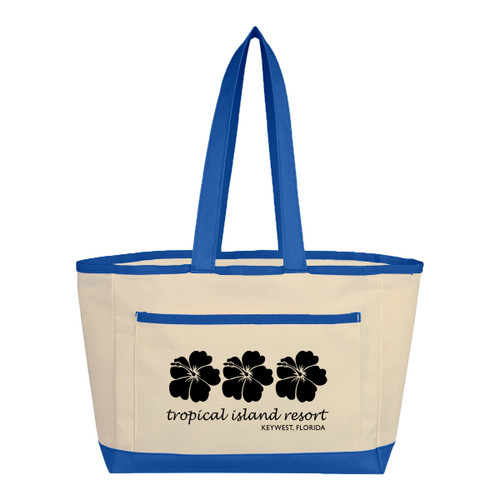 The Caddy Tote Bag (01308-00); Primary; Decoration Type: Silk-Screen