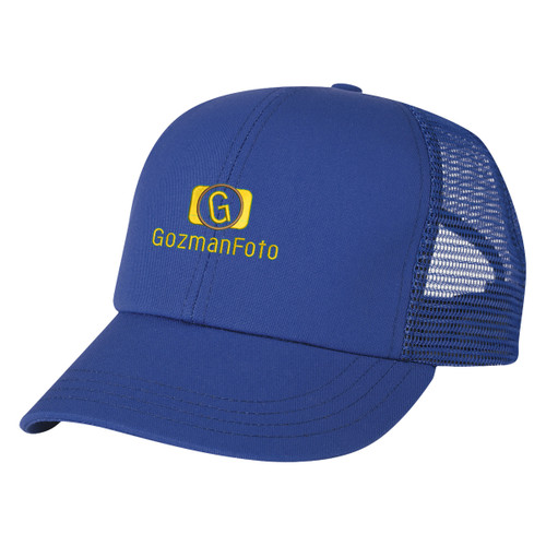 Usa Made Mesh Back Cap (01097-00); Primary; Decoration Type: Embroidery
