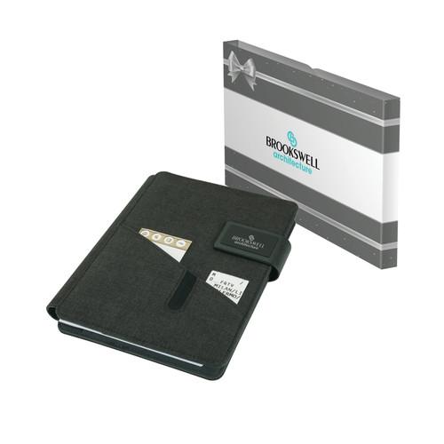 Madison Junior Padfolio & Packaging (00006-17); DecoratedHigh; Decoration Type: