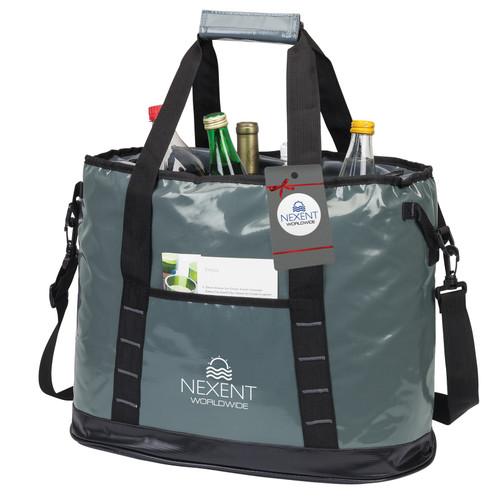 Glacier Cooler Bag & Hangtag (00189-17); DecoratedHigh; Decoration Type:
