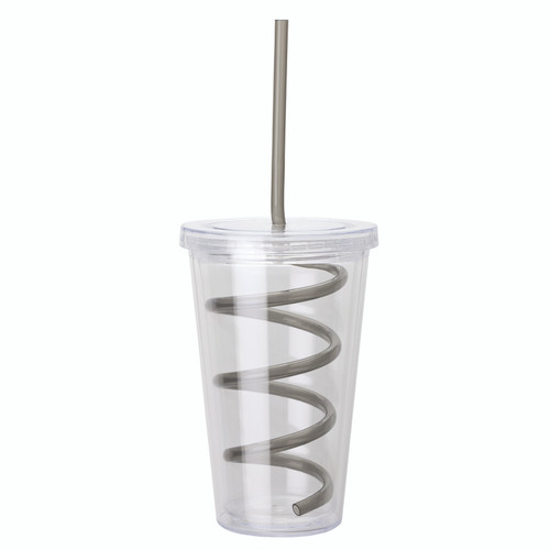 16 Oz. Double Wall As Tumbler (01544-17); BlankHigh; Decoration Type: