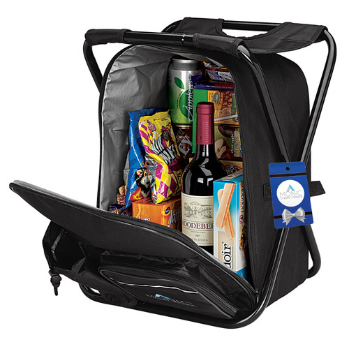 Remington Cooler Backpack Chair & Hangtag (01705-17); DecoratedHigh; Decoration Type: