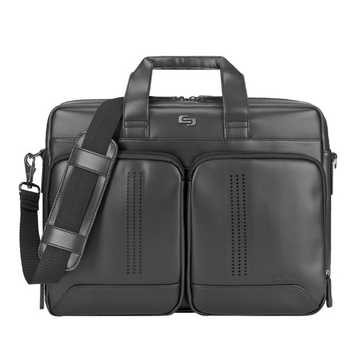 Solo® Moore Briefcase (00471-17); BlankHigh; Decoration Type: