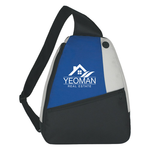 Sling Backpack (00651-00); Primary; Decoration Type: Silk-Screen