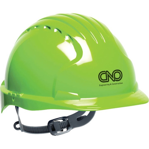 Evolution™ Hv6121 Hard Hat (00415-11); Decorated; Decoration Type:
