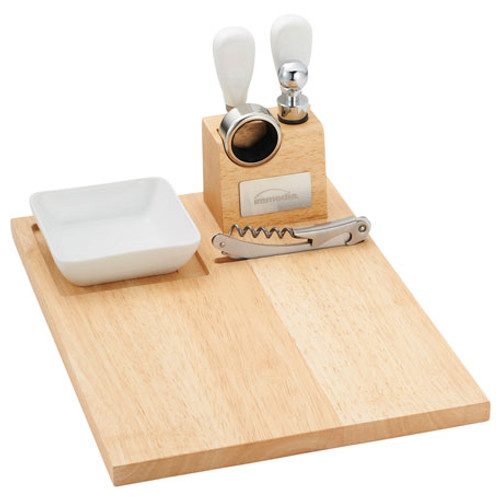 Entertainer Wine & Cheese Board (00784-01)