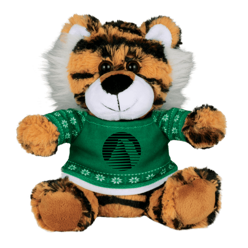 6&Quot; Ugly Sweater Plush Tiger (02084-01)