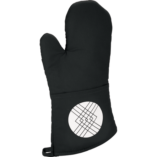 Quilted Cotton Oven Mitt (02849-01)