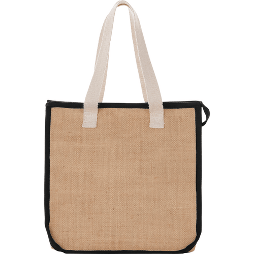 Jute Insulated Grocery Tote (03174-01)