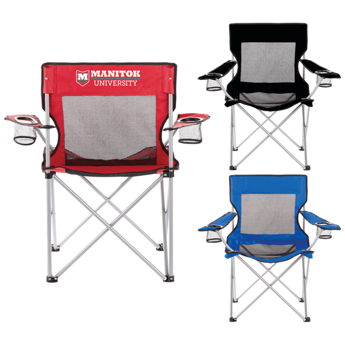 Fanatic Event Folding Mesh Chair (03185-01)