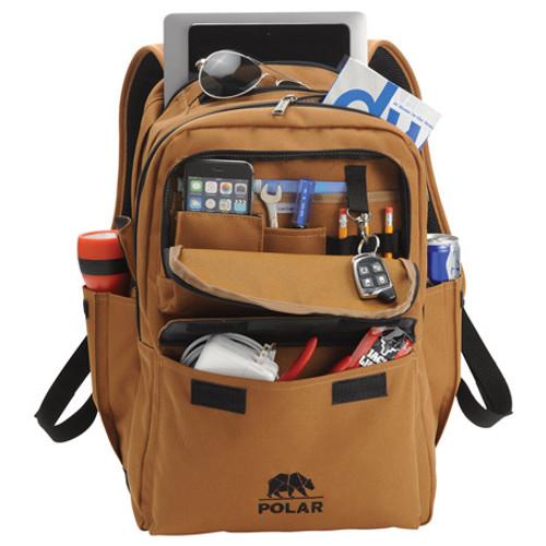 "Carhartt Signature Premium 17"" Computer Backpack (03244-01)"