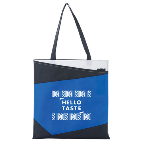 Color Angle Non-Woven Convention Tote (03266-01)