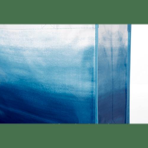 Watercolor Laminated Shopper Tote (03282-01)